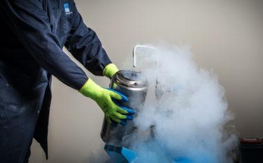 Engineering with liquid nitrogen